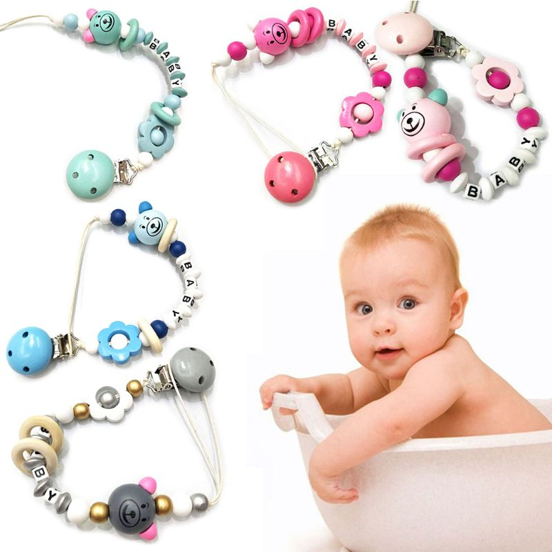 Holder Newborn For Baby Infant Feeding Clips Silicone Pacifier Safety Nipple