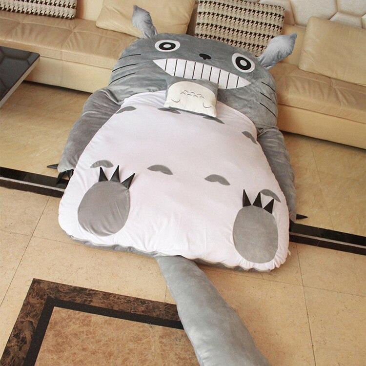 New Mattress Topper Home Furniture Totoro Bed Sofa Baby Crib