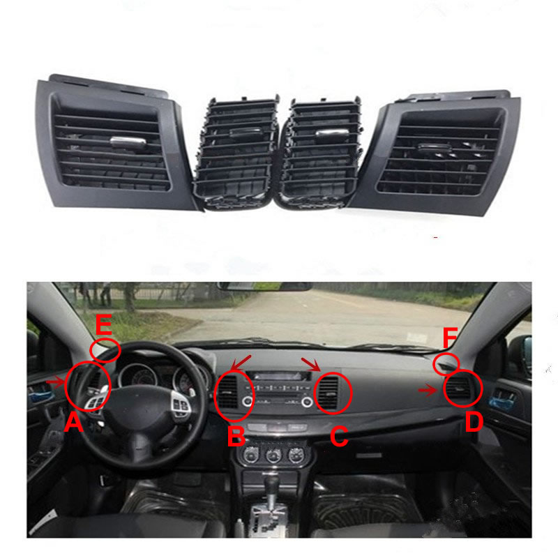 Genuine Hengfei car air conditioner outlet for Mitsubishi Lancer EX air conditioning vents