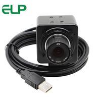 5Megapixel Mjpeg YuY2 Picture Format 4mm Manual Focus Lens Aptina MI5100 CMOS Usb2 0 CCTV Surveillance