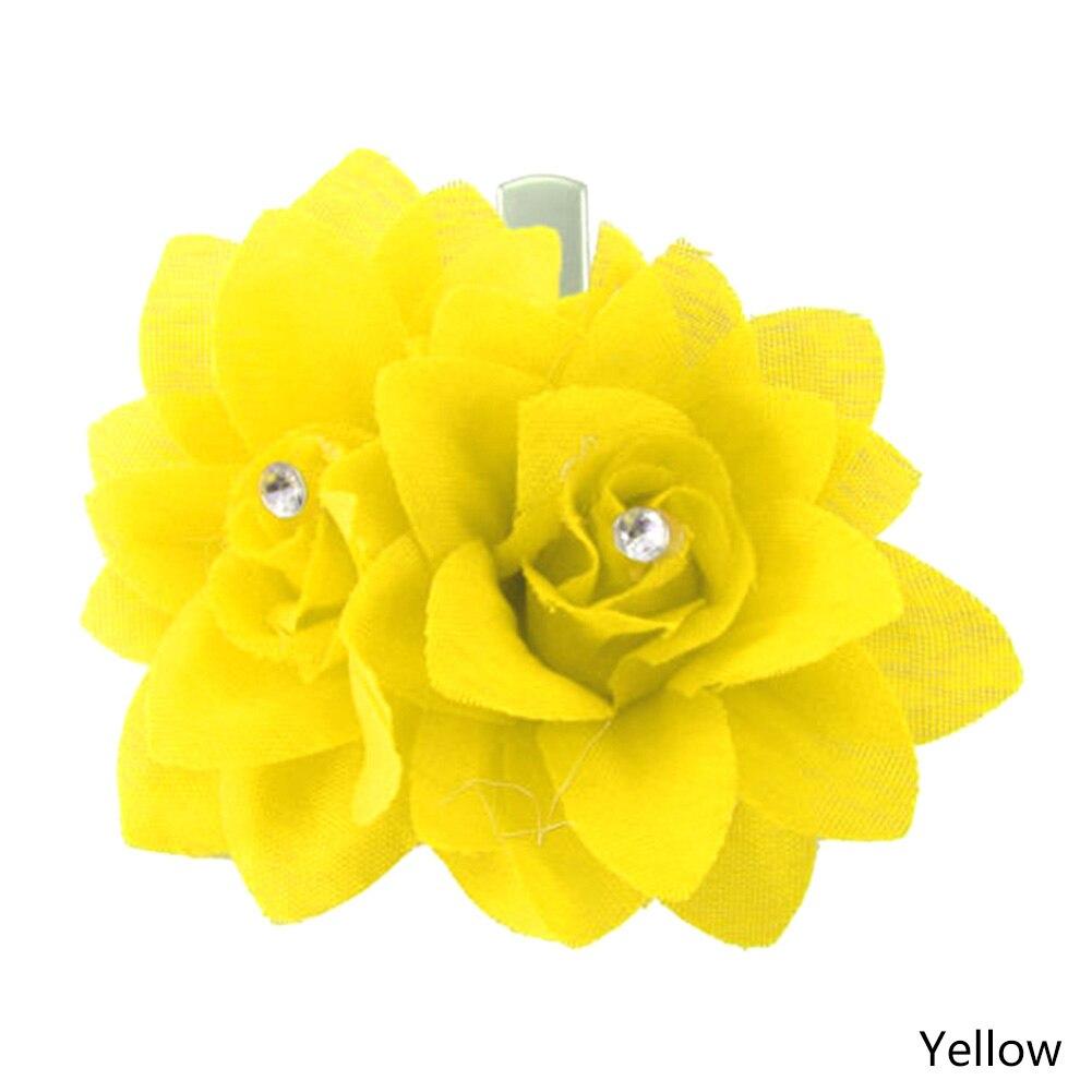 Available Magic Double Flower Headdress Style Stylish Novelty Vogue Grateful Gift Beauty
