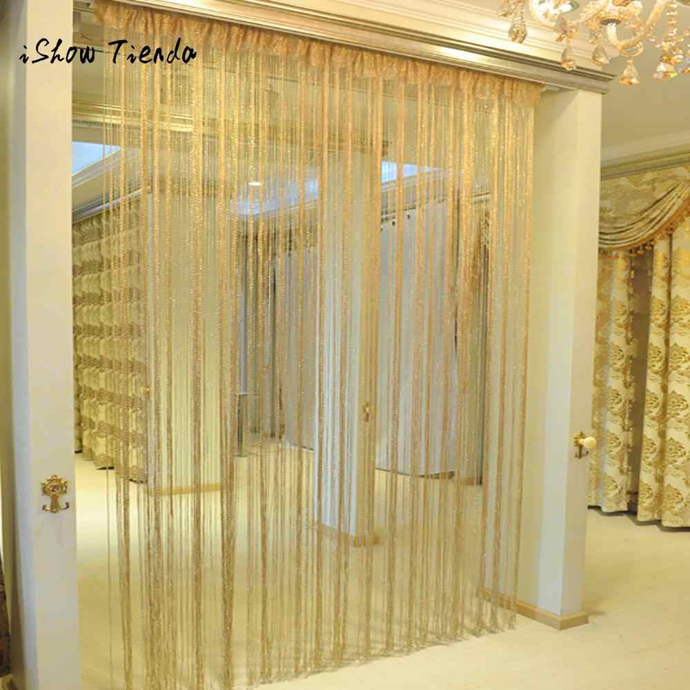 String Curtains Patio Net Fringe for Door Fly Screen Windows Divider Cut To Size curtains for living room bedroom cortinas
