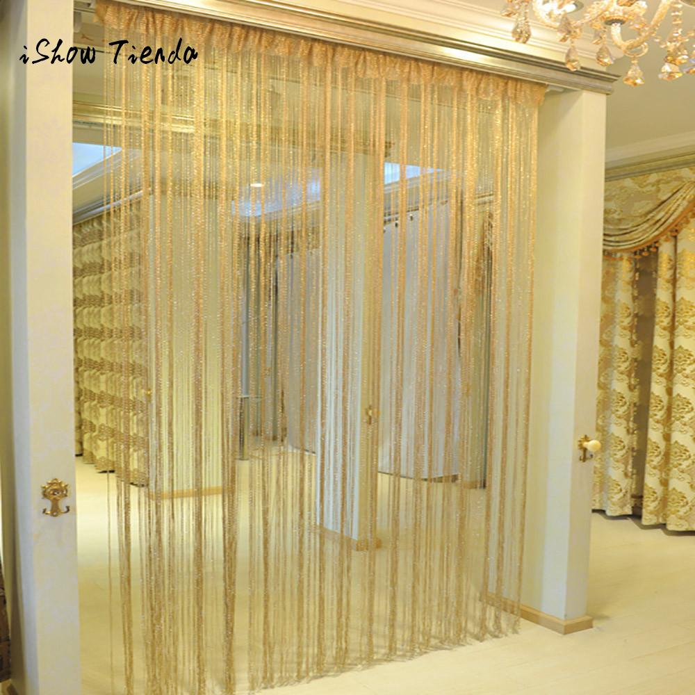 String Curtains Patio Net Fringe for Door Fly Screen Windows Divider Cut To Size curtains for living room bedroom cortinas partes del cable coaxial