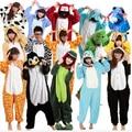 Warm 2015 Winter Women Sleepwear High Quality Flannel Onesie Nightgown Animal Style Onesie Sleepwear Panda Giraffe/Unicorn/Tiger
