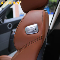 Car Accessories ABS Chrome Copilot Seat Adjust Switch Trim For Land Rover Range Rover Sport HSE