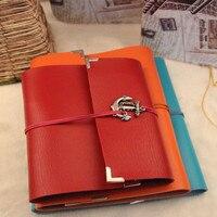Hot New Arrival Photo Album High Grade Leather Heart Shape Diy Handmade Gift Album Large Size