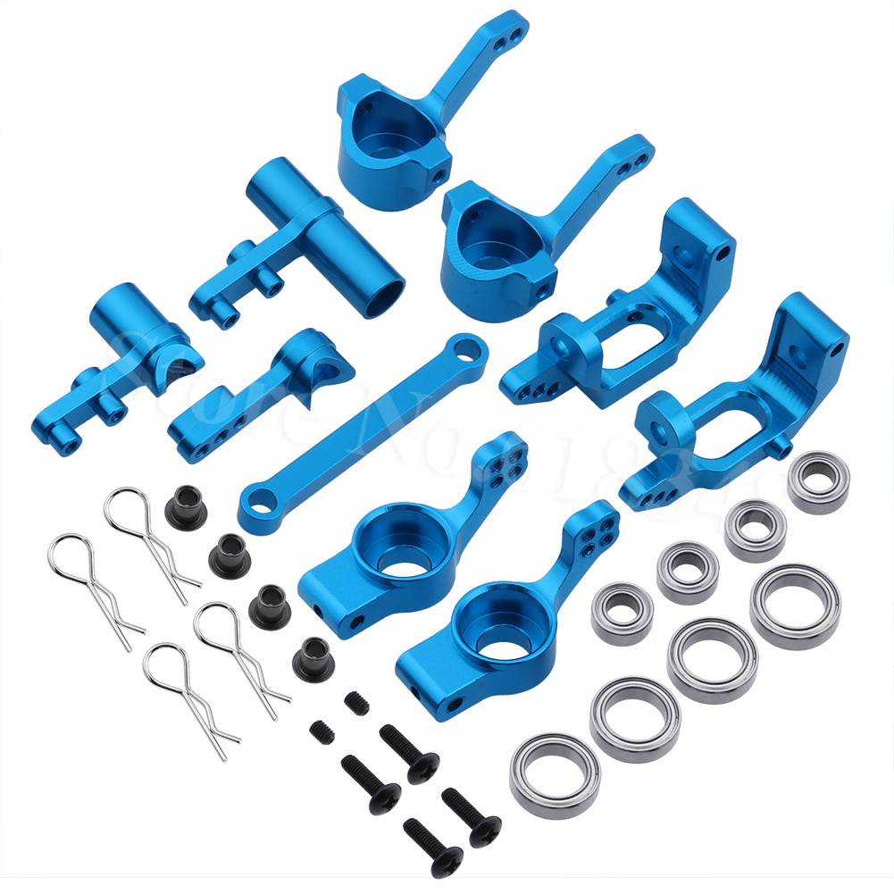 HSP 1/10 RC-autolla päivitettävät lisävarusteet Alumiininen ohjausnavan kantoalusta 102210 102211 102212 102010 102011 102012 102040 102057