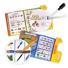 Первая электронная книга для детей, английский+ Арабский двуязычный детский планште для чтения, развивающие Обучающие игрушки Мусульманский Коран для всех детей