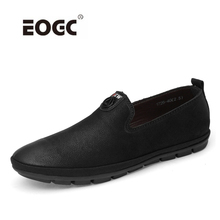 Genuine Leather Men Shoes Comfortable Slip On Loafers Moccasins Handmade Casual Shoes Fashion Men Flats Driving Shoes цена