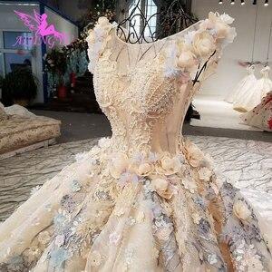 Image 2 - AIJINGYU スリムウェディングドレスアンティークガウン脂肪ホットオランダリアル価格ドレスパーティーヴィンテージ InspiNew のウェディングドレス