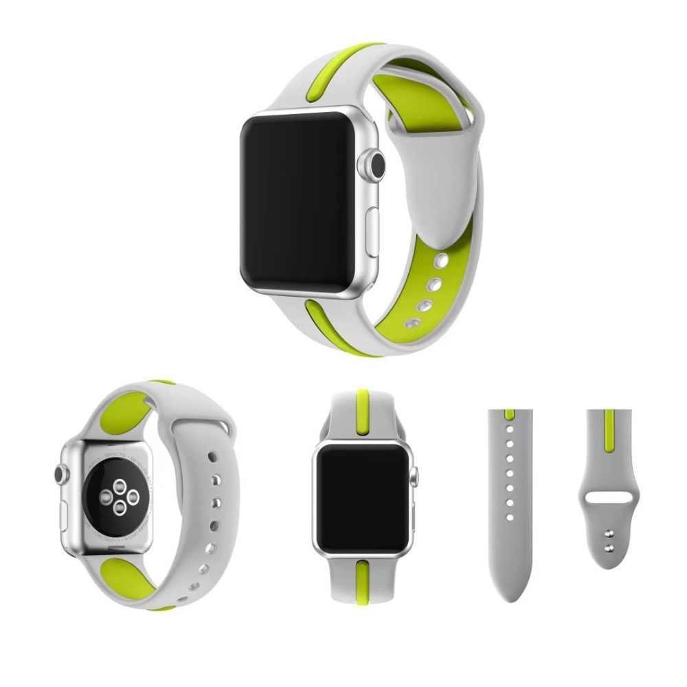 ゴムのためのシリコーンストラップカルティエ女性 iphone 役割男性 × アップル smart watch バンドソフト 38 ミリメートル 42 ミリメートルスポーツブレスレット iwatch ベルト 3 2