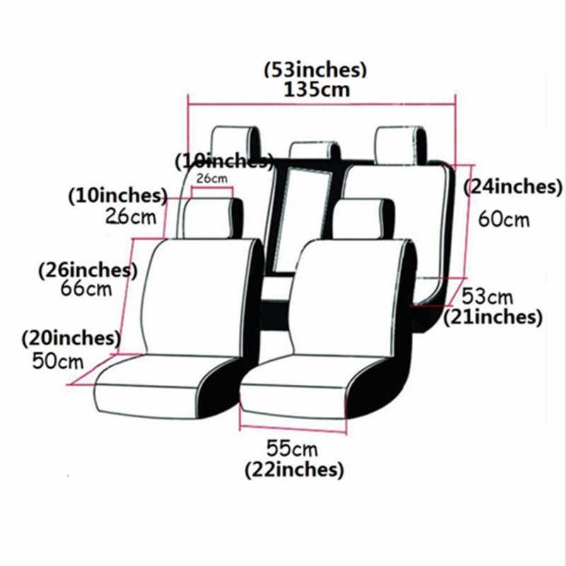 9 ピースセットフロントリア車のシートカバーユニバーサル自動席フィアットセイチェント用カバーフィアットシエナ stlivo 大宇 gentra でラセッティ lanos で 2004