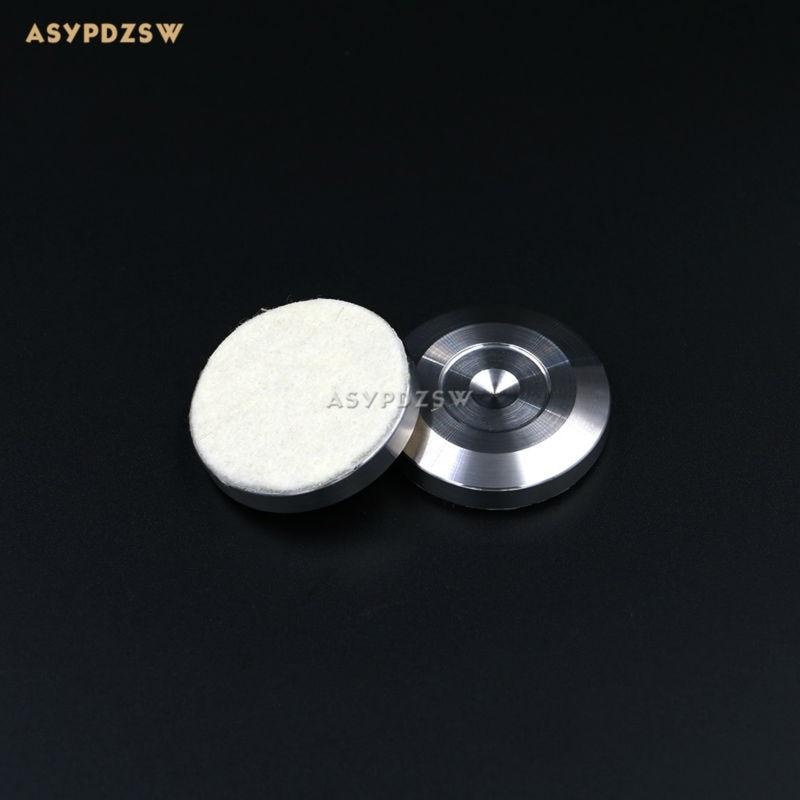 цена на 4PCS 304 stainless steel 39*8 Speaker spikes pad sound machine feet Power amp spikes shock pads