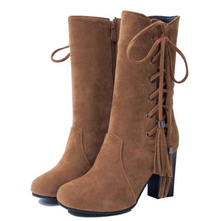0359b3b5 Del 41 Para Plataforma A rojo Wedge Mujeres Más Caliente Flock De Nieve  Tamaño Moda plata Mujer 40 Invierno Zapatos 43 Botas negro Negra Nueva  TXZkiPuO