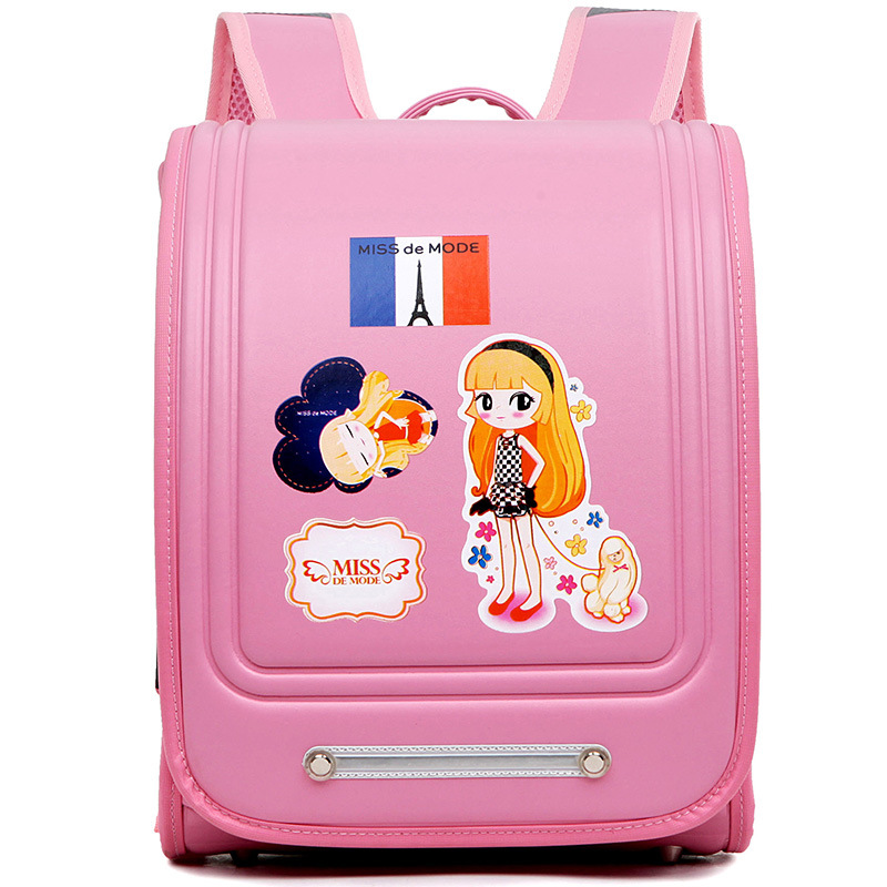 ФОТО 2016 Quality Pu Leather School Bag Christmas Gifts Childrens Character Backpack For Girls Cute Randoseru Backpack Sac A Dos
