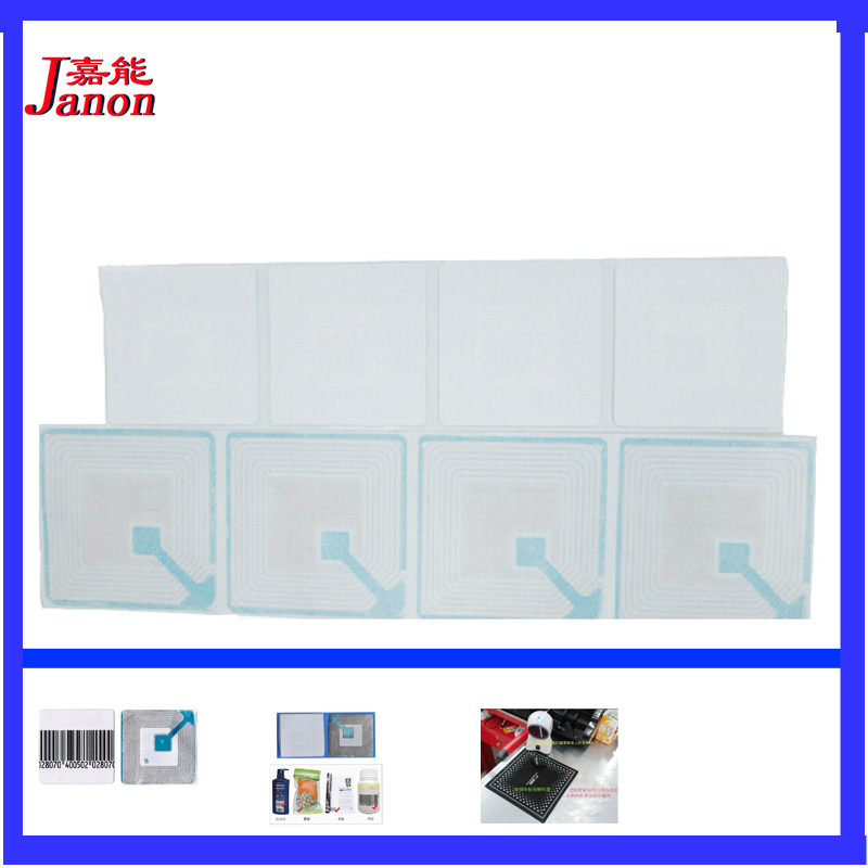 RF 8.2Mhz EAS soft label 4cmX4cm 1000piece,anti theft security label,supermarket anti theft securitry alarm label ...