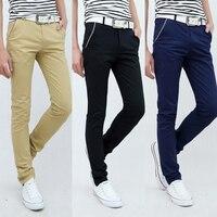 Summer Metrosexual British Skinny Pants Mens Fashion Leggings Men Pants Casual Mens Business Trousers Young Boys Sexy Mens Pants