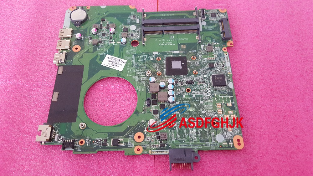 776783-501 for HP Touchsmart 15-F Laptop Motherboard WITH E1-2100 DA0U93MB6D2 100% Perfect work776783-501 for HP Touchsmart 15-F Laptop Motherboard WITH E1-2100 DA0U93MB6D2 100% Perfect work