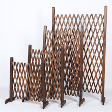 wood garden decoration fence mesh balcony garden border pot fencing for garden vinyl fence edge garden