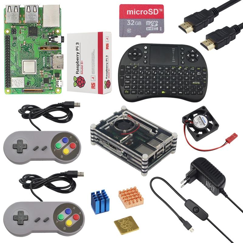 Unique Uk Raspberry Pi three Mannequin B Plus 1G Ram 1.4Ghz Quad-Core 64 Bit Cpu Construct-In Wifi&bluetooth Raspberry Pi 3B+ Package