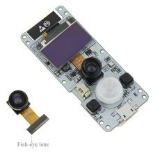 ESP32-WROVER Electronic Dual-core Camera Module OV2640 Bluetooth 4.2 Photograph PSRAM Mini Wireless 0.96 OLED Board DIY(China)