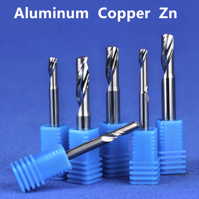 FLY MEN 10Pcs 0.4mm 30 Degree Carbide Steel Milling CNC Router End Mills for PCB Wood Acrylic Cutting Bits