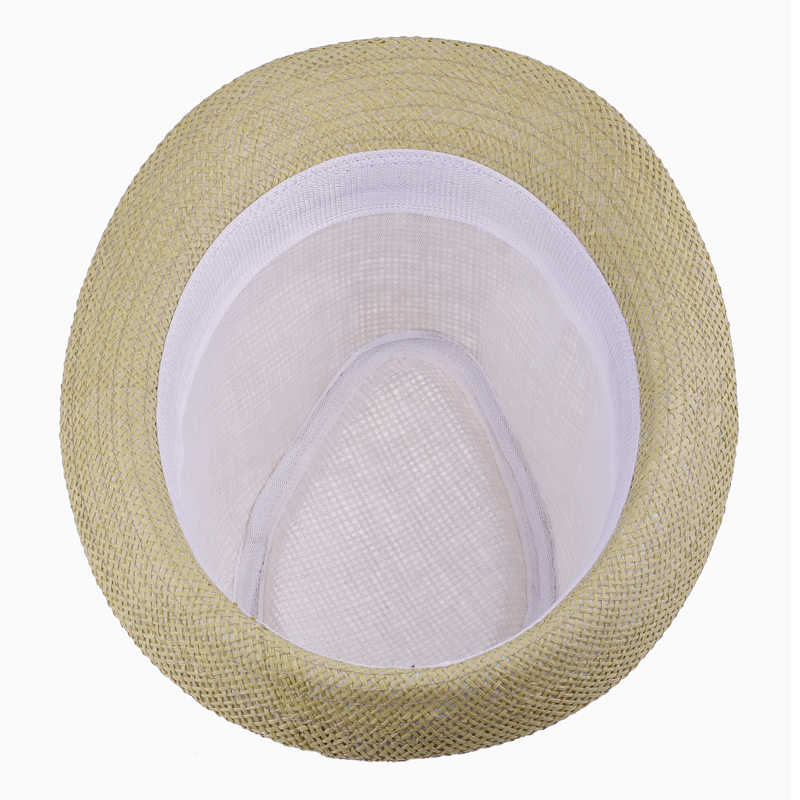 2016 Thời Trang Rơm của Phụ Nữ Đàn Ông Mùa Hè Nón Mặt Trời Fedora Trilby Gangster Cap Bãi Biển Summer Sun Straw Hat Panama Sunhat Trong kho 40