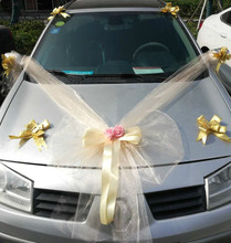 Wedding Centerpieces Car Decorative Flowers Rose Accessory Car Team Artificial Flowers Wedding Flowers Silk Flowers