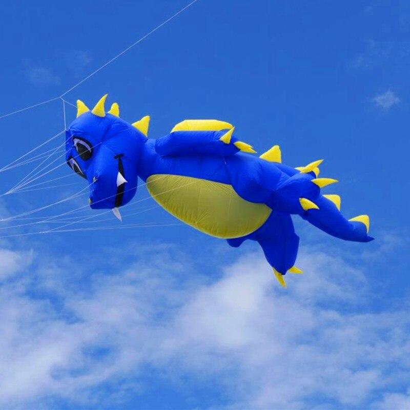 Livraison gratuite haute qualité 5m pendentif fauchi dragon cerf-volant doux cerf-volant jouets de plein air grand cerf-volant usine pieuvre cerf-volant bar poisson volant