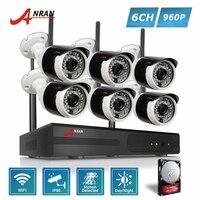 ANRAN P2P Plug Play 960P HD 8CH NVR Kit 6pcs 36 IR Day Night Outdoor 1