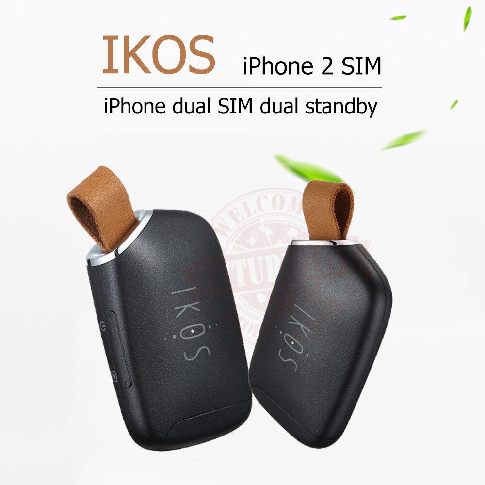 imágenes para Adaptador Dual Sim Doble Modo de Espera iKOS K1S No Jailbreak iOS 10.3 Llamar A Funciones de Texto Para iPhone5-7/i Pod Touch $ number ª/i Pad