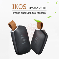 Dual Sim Dual Standby Adapter IKOS K1S No Jailbreak IOS 10 Call Text Functions For IPhone5