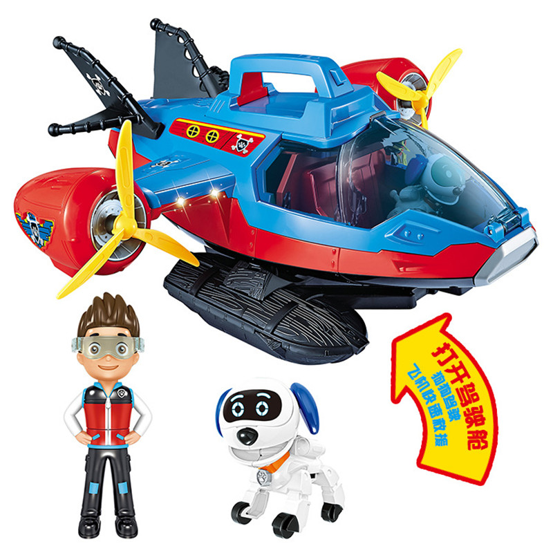 Paw Patrol dog Deformation speedboat toy Patrulla Canina Action Figures Juguetes toys Kids Children Toys canine patrol dog toys russian anime doll action figures car patrol puppy toy patrulla canina juguetes gift for child