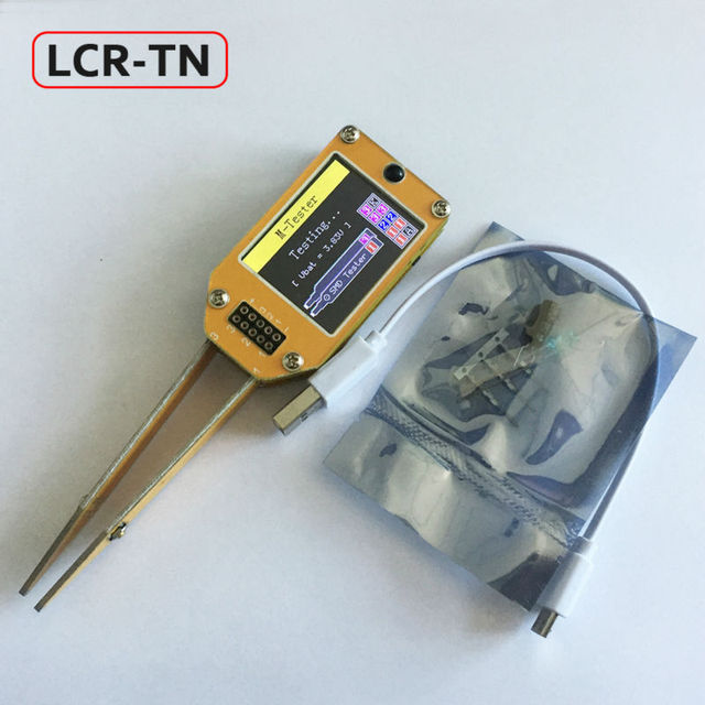 2017 Exclusive!! Multifunction LCR-TN Tester TC-V2.12k TFT LCD backlight Tweezer tester Doide/Triode/MOSFET/IR Decoder