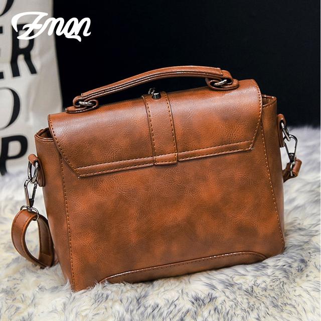 ZMQN Crossbody Bags For Women 2019 Women Messenger Bags Leather Handbags Shoulder Vintage Bag Female Bolsas Feminina Mujer C522