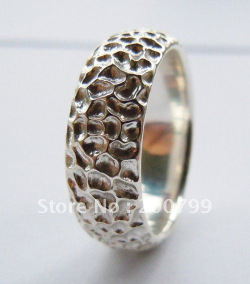 Wellmade 7mm Solid 925Sterling Silver Plain Band Ring цена