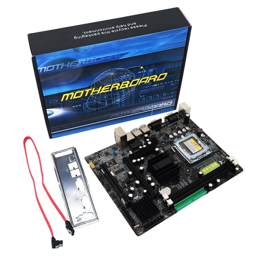 Profesional 945 placa madre 945GC + ich apoyo chipset LGA 775 FSB533 800 MHz SATA2 puertos dual channel DDR2 memoria
