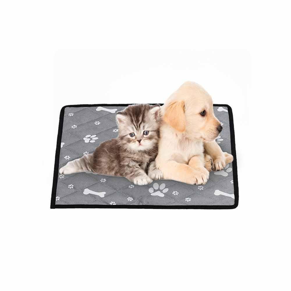 夏抗スリップペット SoftCooling マット毛布ペット犬自己冷却マットパッド夏の車のシートアイスシルクマットペット冷却 S/M/L/XL