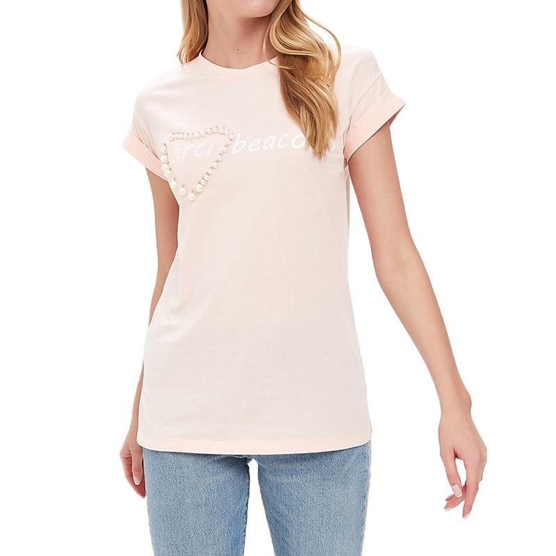 T-Shirts MODIS M181W00939 women shirt cotton for for female TmallFS