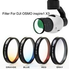 DJI OSMO Inspire1 X3 Filter Lens 4K font b Camera b font Color Graduated Filters Lens