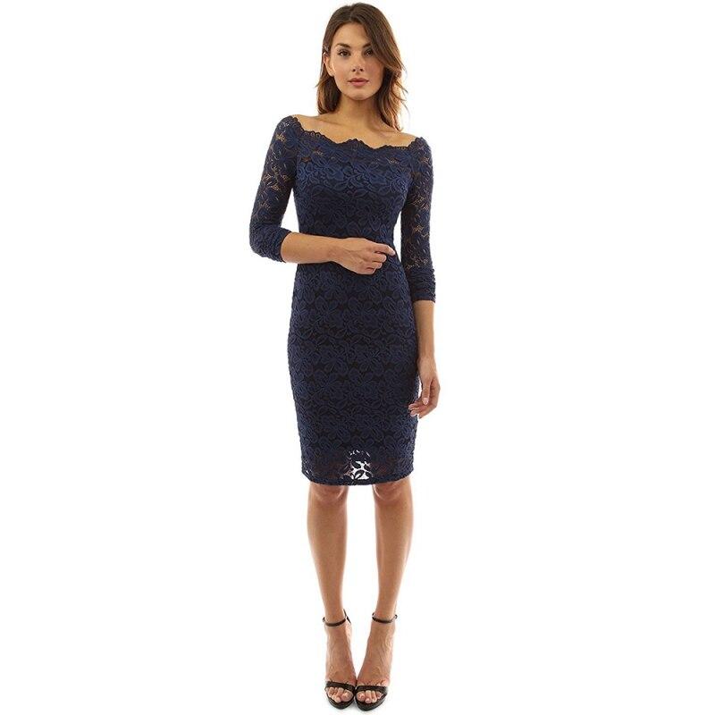 Элегантное платье с кружевами для девочек вечерние Для женщин Slash Средства ухода за кожей шеи с длинным рукавом Специальный невесты мать не...