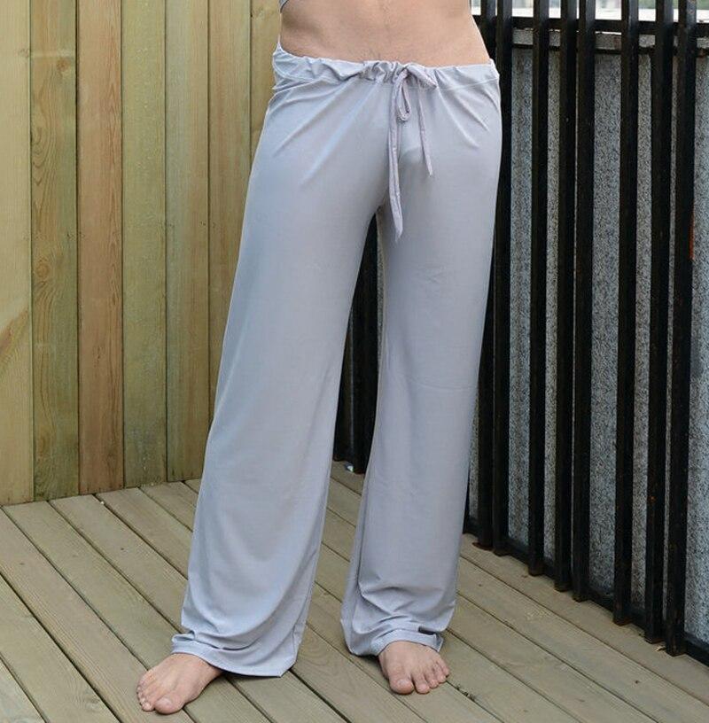primer nivel precio loco una gran variedad de modelos € 17.02 6% de DESCUENTO|Pantalones para hombre, pantalones de dormir para  hombre, pantalones para el hogar de viscosa, sueltos, sexy, para hombre, ...