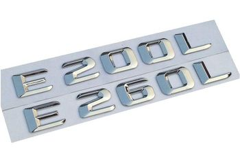 ABS Plastic Numbers and Letters E200 E300L E260L E320L E400L Emblem Badge