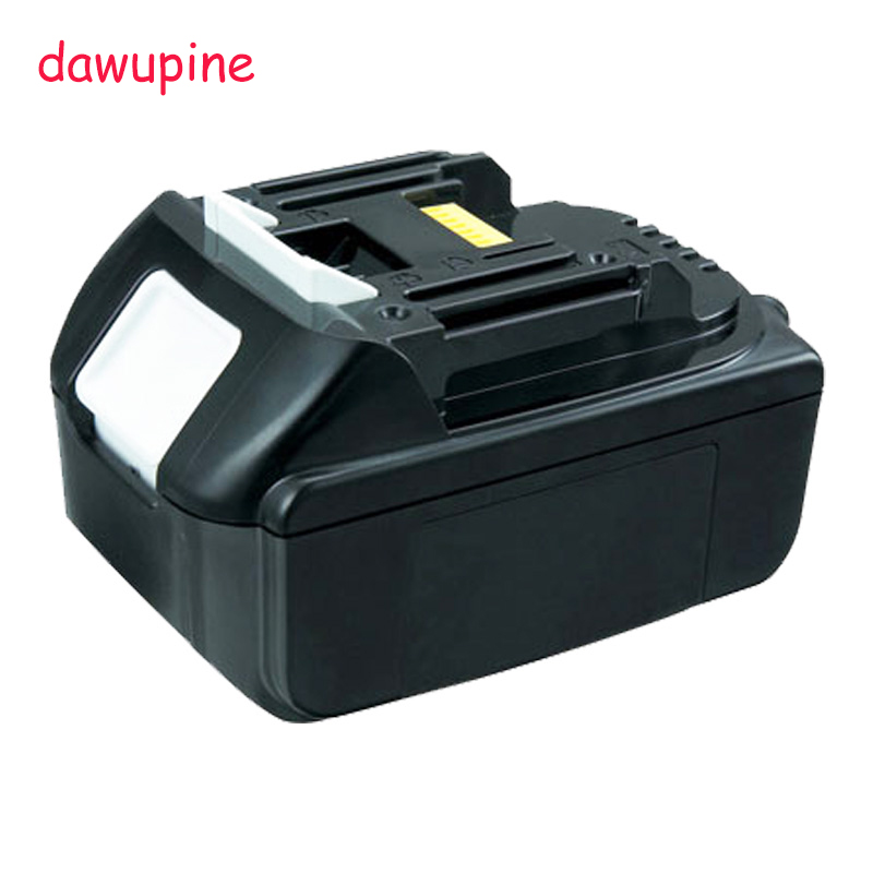 dawupine 18V 5000mAh Lithium-ion Battery For MAKITA 18V 5Ah 194205-3 194309-1 BL1845 BL1830 BL1445 BL1460 Electric Drill угловая шлифмашина bort bws 1200