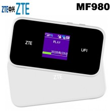 цена на ZTE MF980 UFi LTE Mobile Hotspot 4G+ LTE cat9 wifii router FDD-LTE plus 2pcs antenna