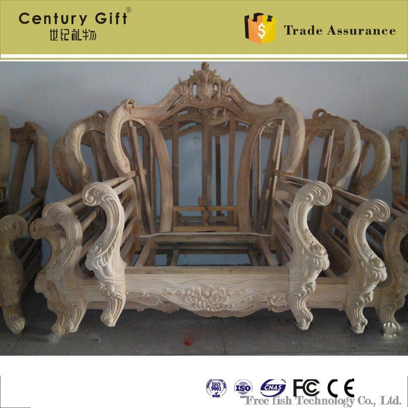 continental carved wood sofa frame frame factory direct in living rh aliexpress com carved wood sofa frame carved wooden sofa legs