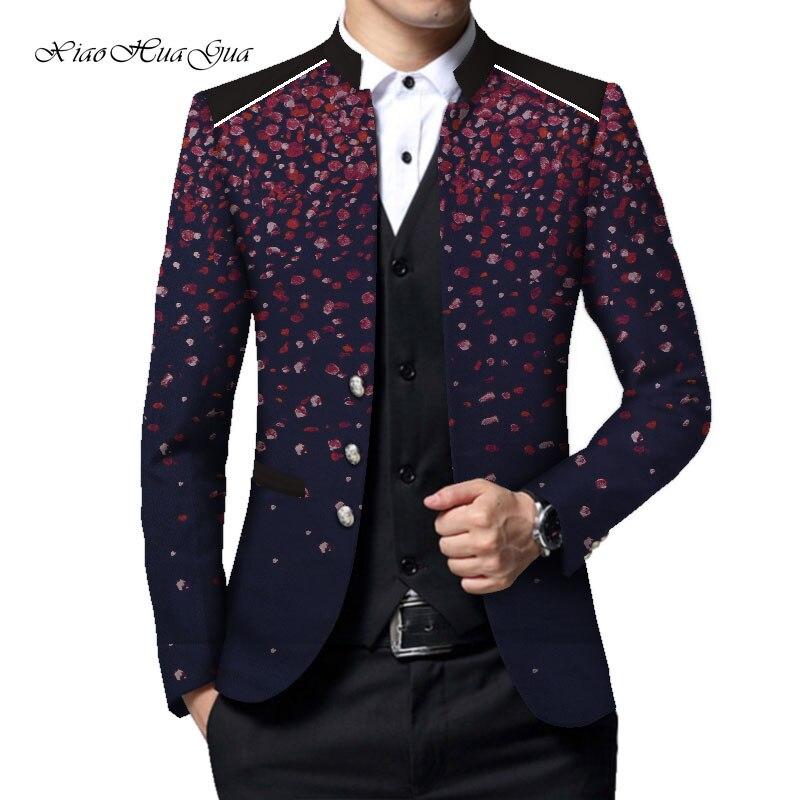 Wyn633 3 Business E Formali Cappotto Abiti Dashiki Su Smart Magliette Uomo  Causale 1 4 Partito Da ... e080613acdd