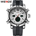 WEIDE Brand Men's Sports Watches Quartz Watch Digital Relogio Masculino Military Dual Time Zone Back Light Display Wristwatches