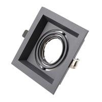 Регулируемый площади MR16 GU10 frame mr16 светильник вниз светодиодный светильник потолочная лампа светодиодный вниз легкая рама для ванной комнат...