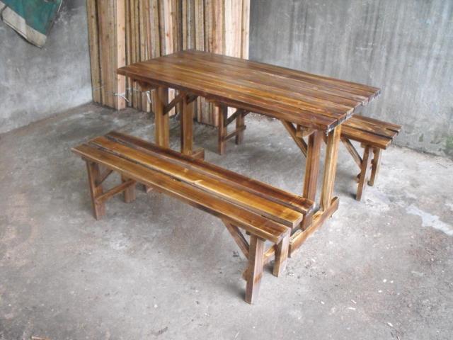 A buon mercato legno carbonizzato brucia balcone esterno for Sedie a buon prezzo